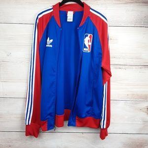 Adidas NBA Superstar Men's Track Jacket Size M